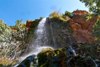 Cascada de la Toba. Aýna.  Toba