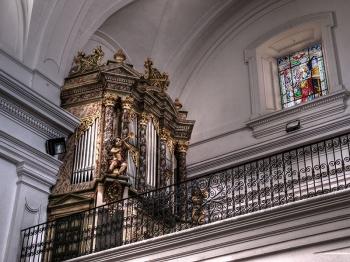 Órgano histórico de Elche de la Sierra organo Elche