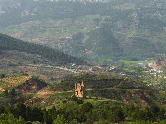 Torre de Haches. Bogarra.   Torre de Haches