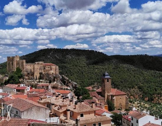 Castillo de Yeste desdecarretera