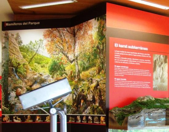 Centro de Interpretación Parque Natural los Calares. Yeste.  interior3