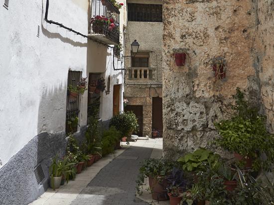 Casco histórico de Letur Conjunto histórico Letur