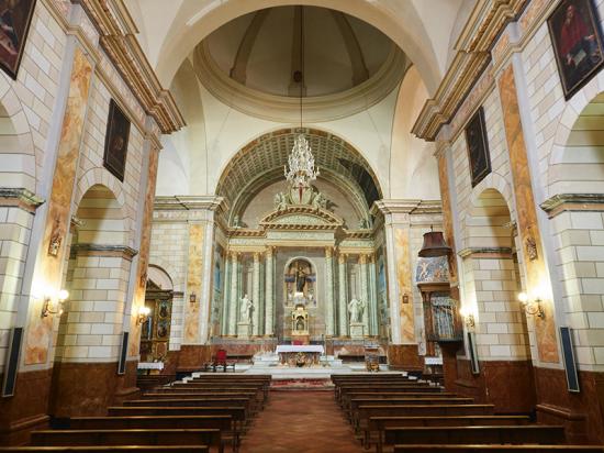 Iglesia Santiago Apostol. Liétor.  Iglesia Lietor