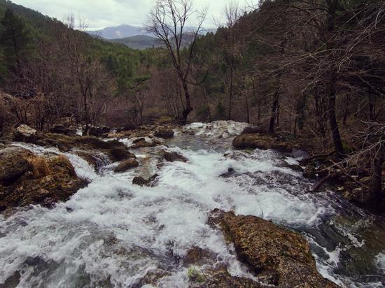 Chorros del río Mundo. Riópar.  Nacimiento río Mundo 4