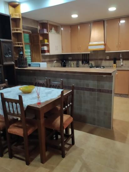 CR Refugio La Tendía cocina