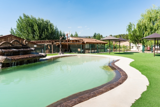 Complejo Rural Casa Barriga Piscina