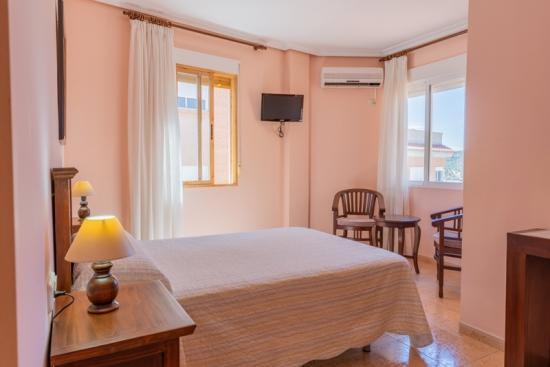 Hotel el Moreno habitación matrimonio