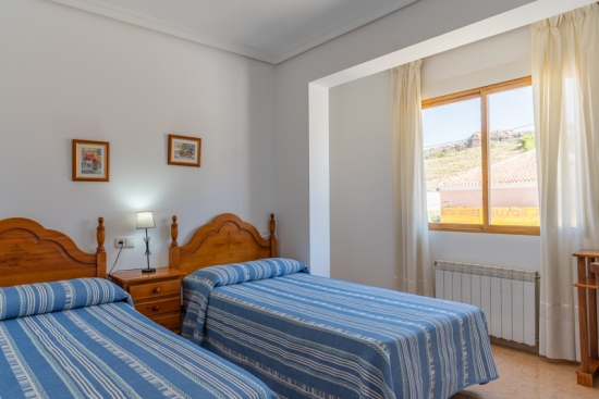 Hotel el Moreno habitación doble
