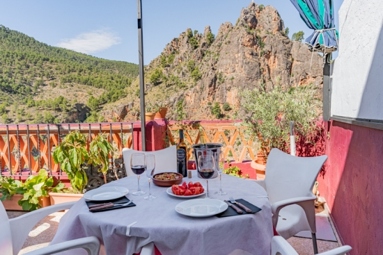 Restaurante Casa Segunda Vistas desde terraza de Casa Segunda