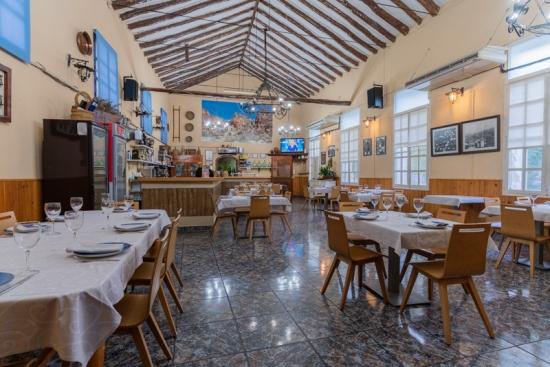 Restaurante la Toba salon interior del restaurante