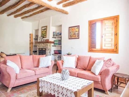 Parajes La Lobera Salon casa rural