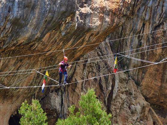 Akawi Adventure Puente tibetano