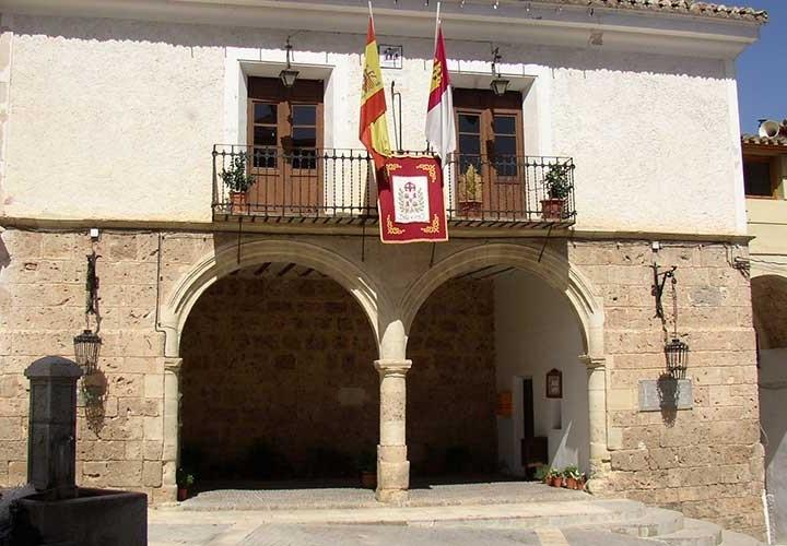 Portada Ayuntamiento de Letur  Portada Ayuntamiento