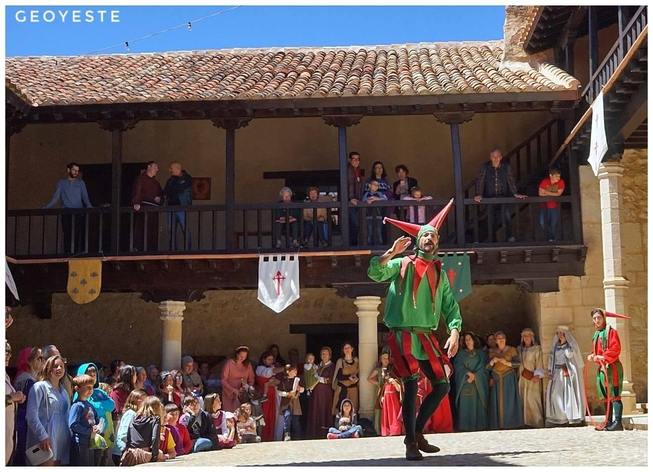 Castillo de Yeste patio armas