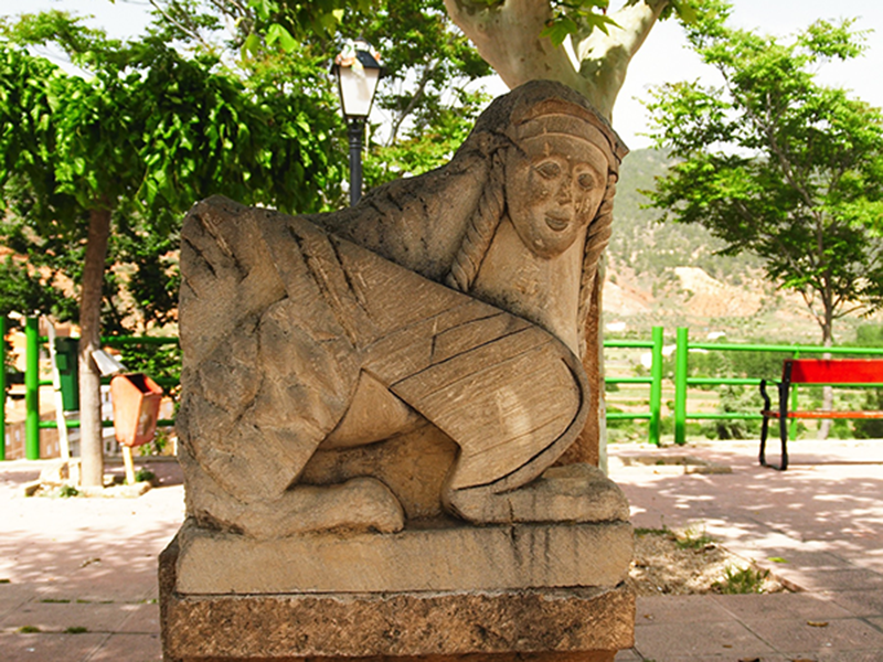 Plaza del Cabezuelo. Bogarra.   Plaza cabezuelo