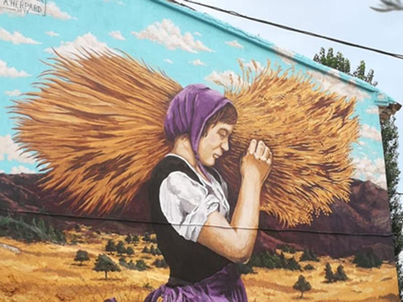 Murales de Molinicos Campo y sudor