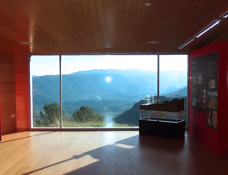 Centro de Interpretación Parque Natural los Calares. Yeste.  centrointer2