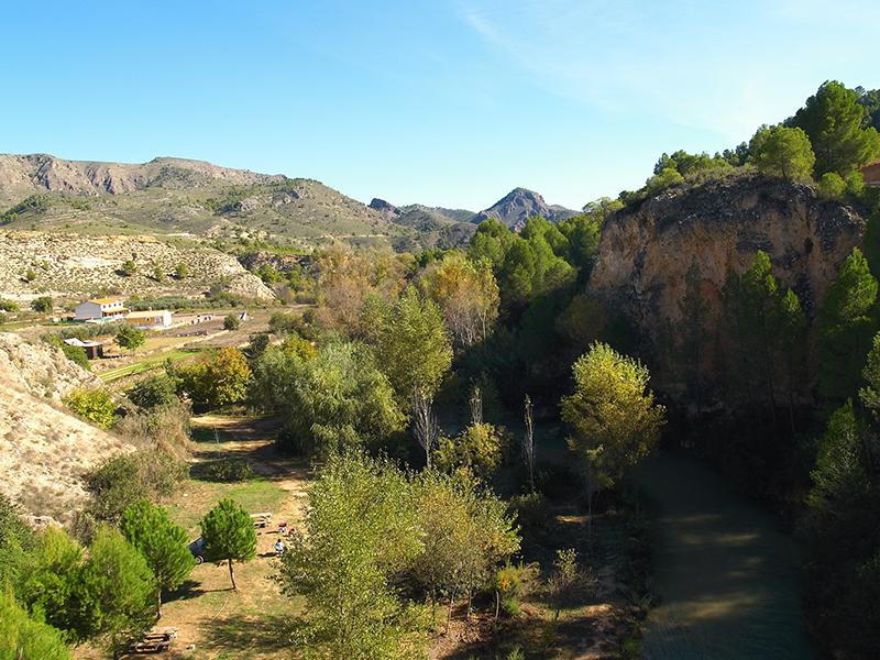 Paraje de Gallego. Elche de la Sierra. gallego