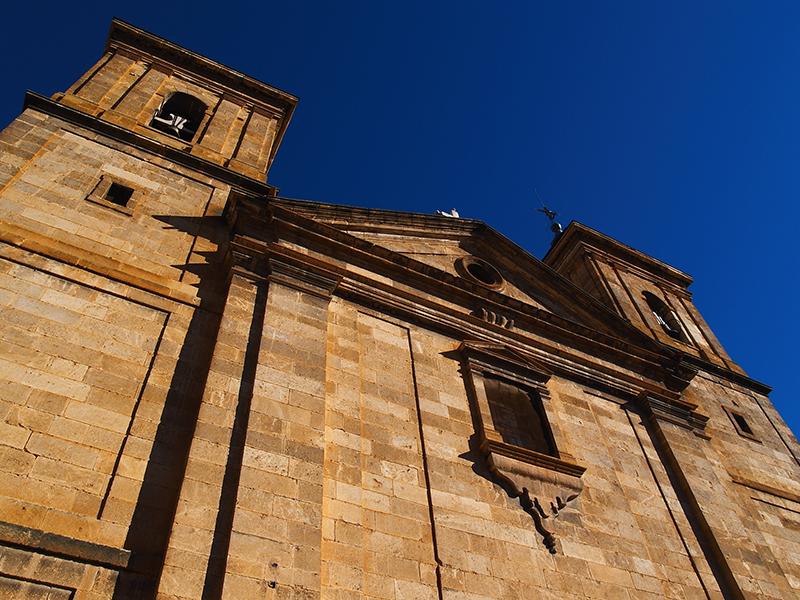 Iglesia Santa Quiteria. Elche de la Sierra.   Iglesia Santa Quiteria