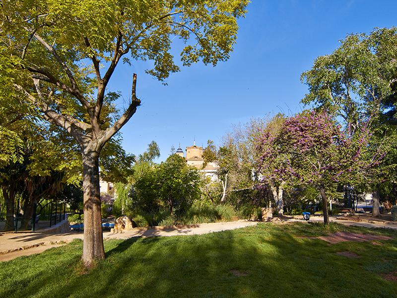 Parque de la Concordia. Elche de la Sierra.  Parque de la Concordia