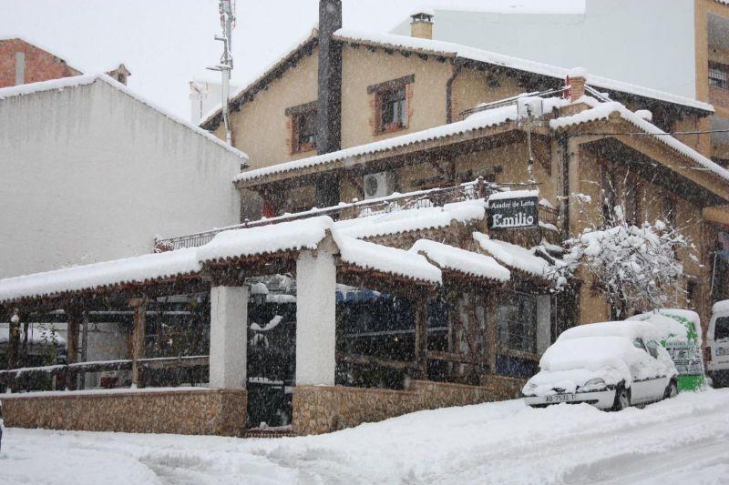 Asador Emilio Restaurante nevado