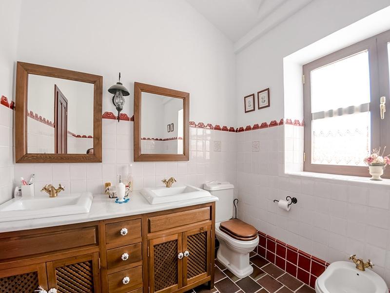 Casa Rural Riopar Green Baño principal
