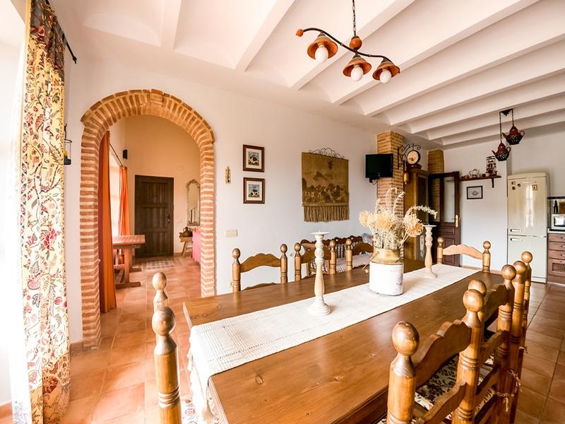Casa Rural Riopar Green Cocina