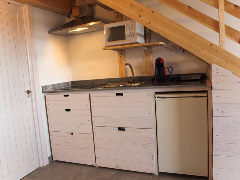 Apartamentos el Palomar Cocina