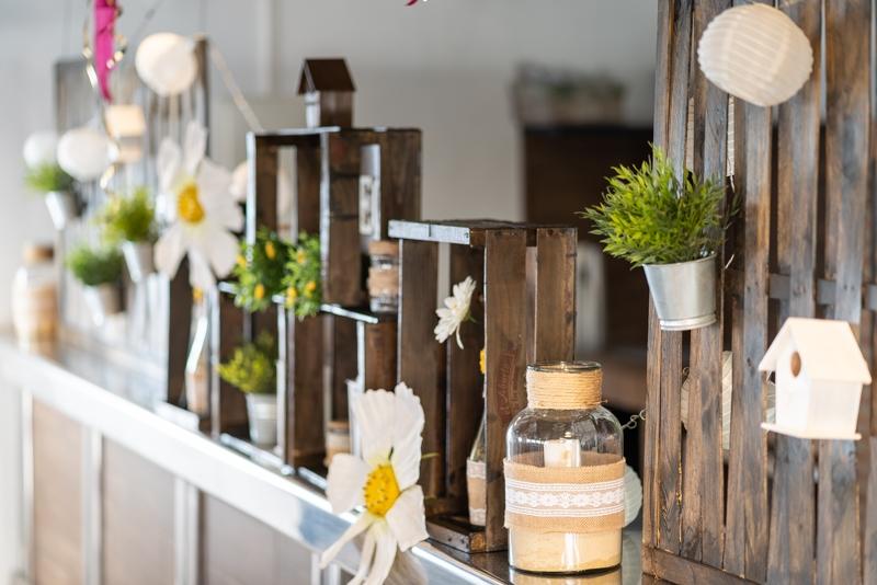 Complejo Rural Casa Barriga detalle celebraciones