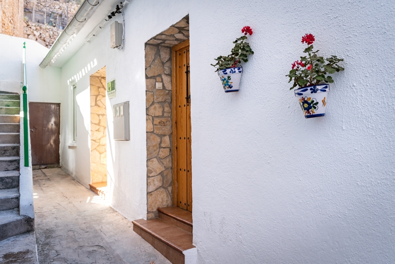 Casa rural el Balcón de las Mayas Acceso a la casa rural