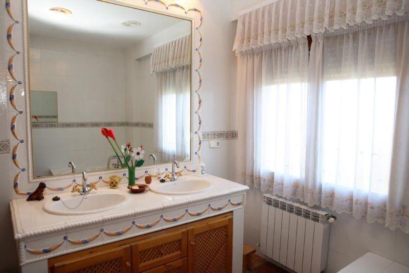 Casa Rural la Serrería Baño completo