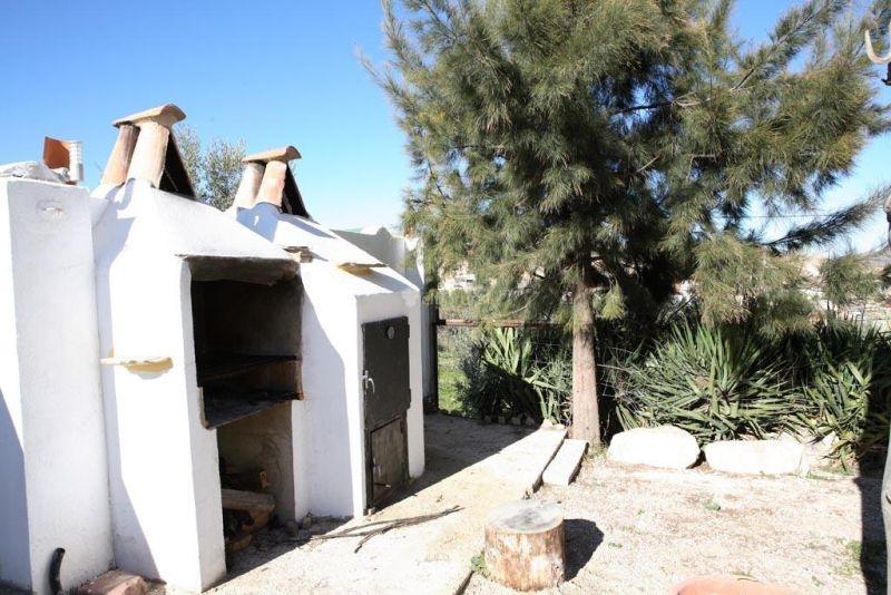 Casa Rural la Serrería Zona barbacoas