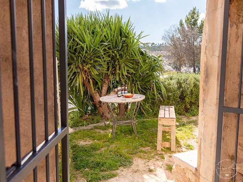 Casa rural La Venta Vistas al jardín