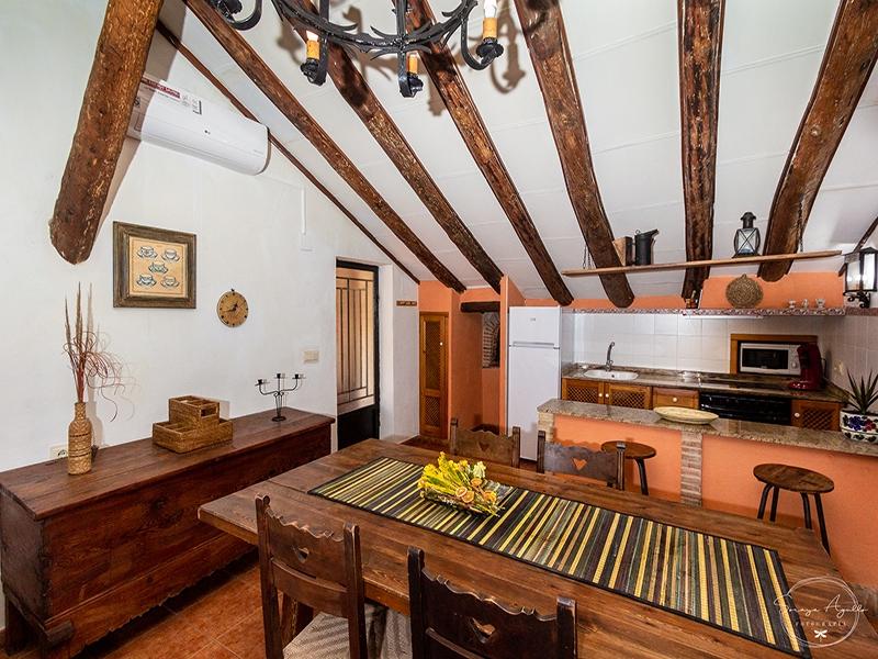 Casa rural La Venta Salon y cocina