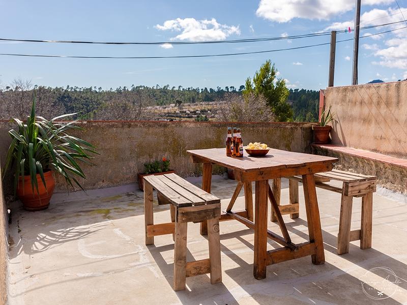 Casa rural La Venta Terraza