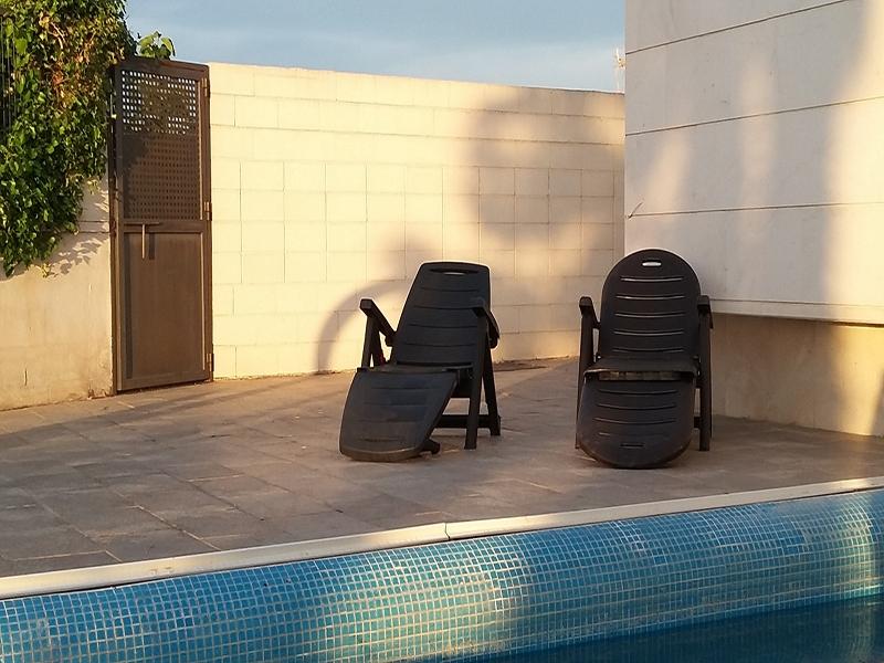 Rincón la Huella Verde Detalle de piscina