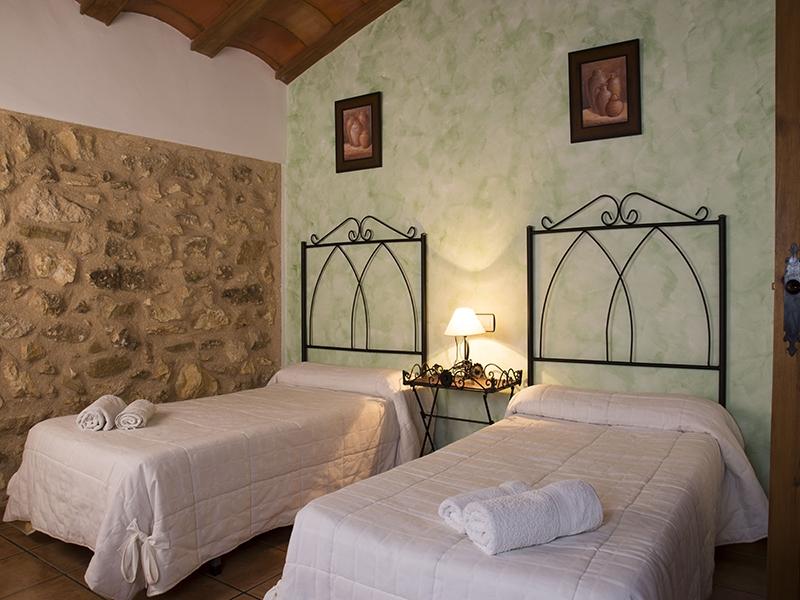Casa rural El Callejón habitación doble