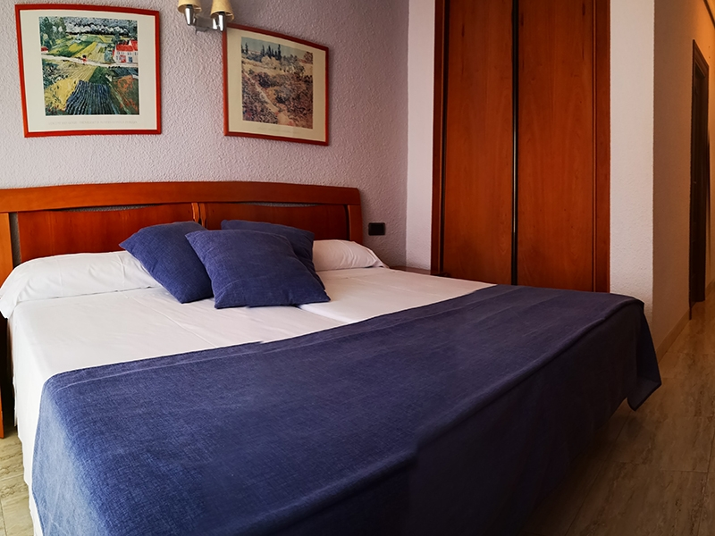 Hotel Felipe II Habitación matrimonio