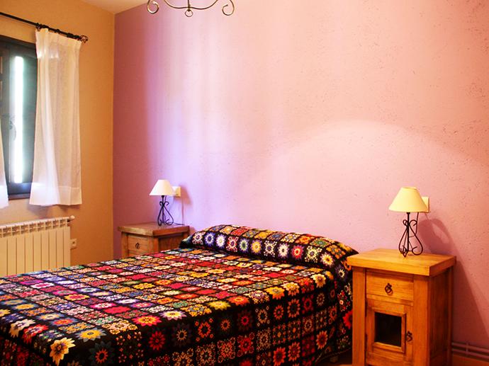Casa rural el Abuelo Luis Habitación lila