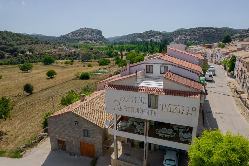 Hostal Restaurante Taibilla Exterior y ubicación