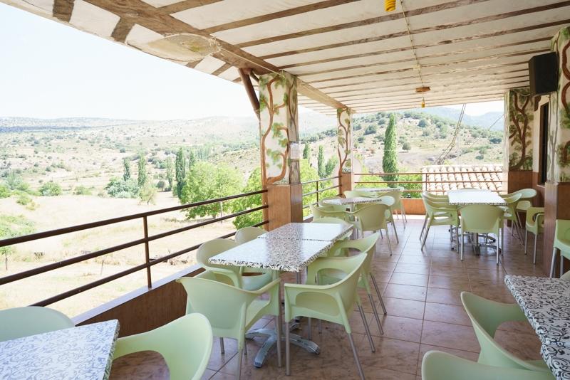 Hostal Restaurante Taibilla terraza del restaurante