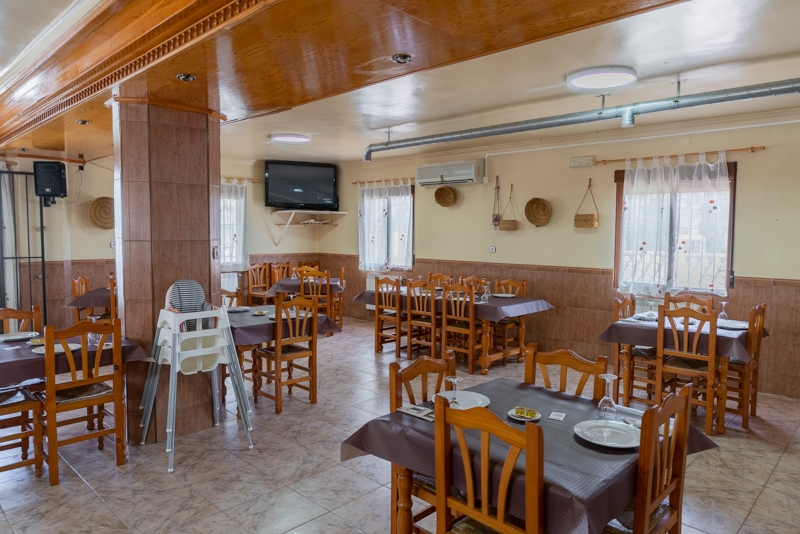 Hostal Restaurante Taibilla salon interior del restaurante