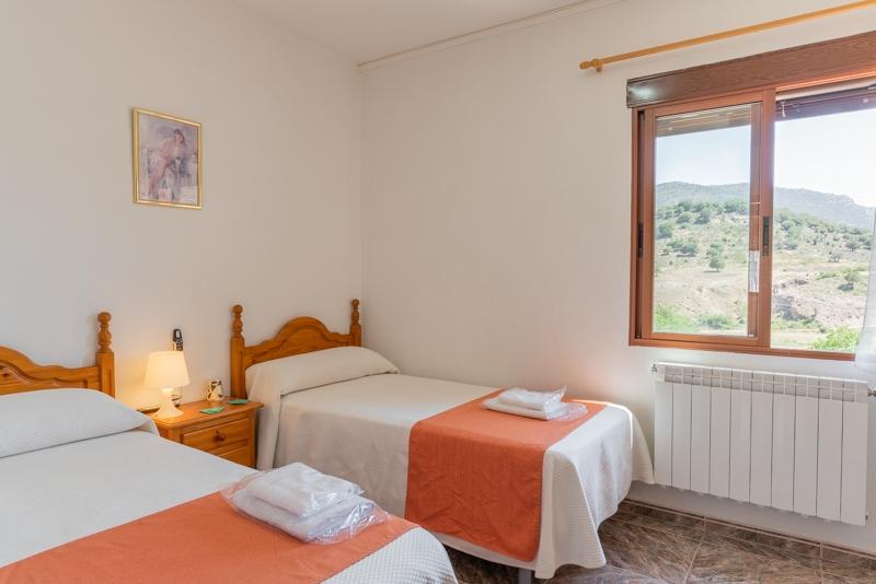 Hostal Restaurante Taibilla vistas desde las habitaciones