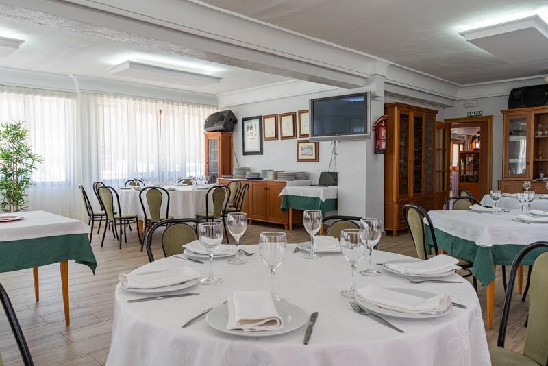 Hotel el Moreno restaurante