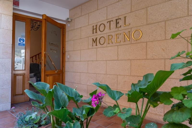Hotel el Moreno acceso
