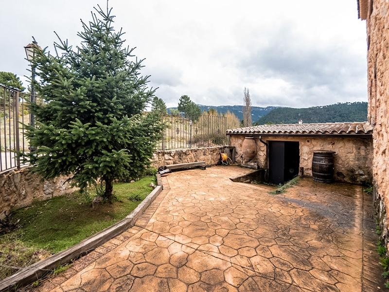 Casa Rural Riopar Green Patio