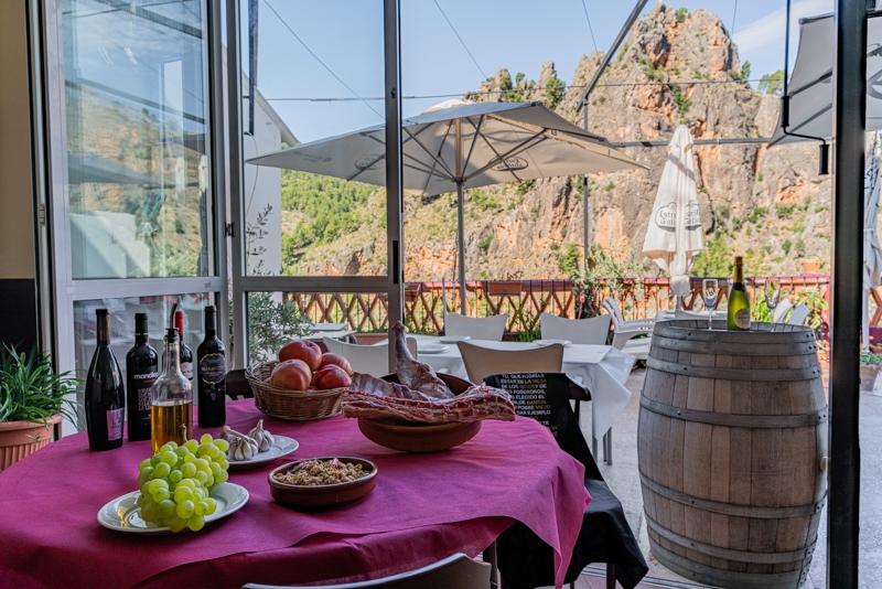 Restaurante Casa Segunda Comida tradicional con vistas