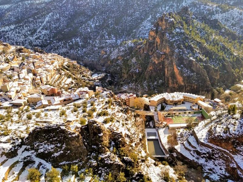 Hotel Felipe II Vistas del hotel desde el Mirador del Diablo